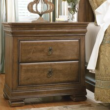 New Lou 2 Drawer Nightstand by Universal Furniture