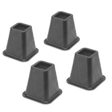 Bed Riser (Set of 4) by Whitmor, Inc