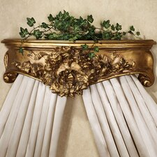 Floral Wreath Bedcrown by Hickory Manor House