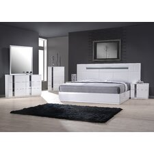 Palermo Platform Customizable Bedroom Set by J&M Furniture
