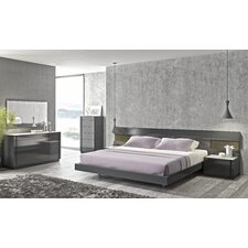 Braga Platform Customizable Bedroom Set by J&M Furniture