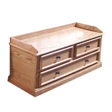 Forest Designs False-Drawer Mission Cedar Chest by Forest Designs