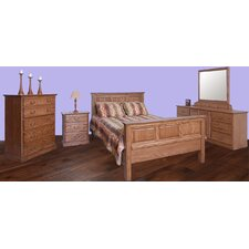 Panel Customizable Bedroom Set by Forest Designs