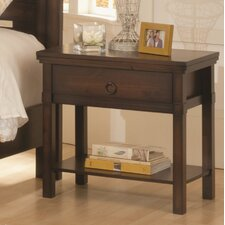 Hudson Valley 1 Drawer Nightstand by Wildon Home ®