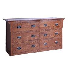 6 Drawer Dresser by Forest Designs