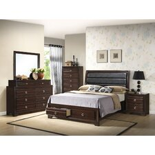 Platform Customizable Bedroom Set by Hazelwood Home