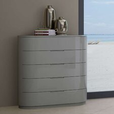 Moonlight 5 Drawer Chest by Creative Furniture