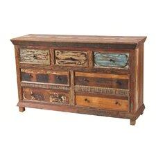 7 Drawer Dresser by MOTI Furniture