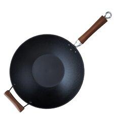 Gloab Kitchen Light Cast Iron Wok