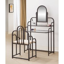 Binney Vanity Set with Mirror by Andover Mills®