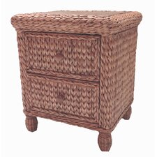 Key West 2 Drawer Nightstand by ElanaMar Designs