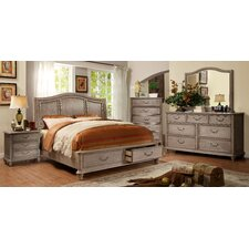 Villefort Storage Panel Customizable Bedroom Set by Hokku Designs