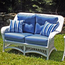 Princeton Deep Seating Loveseat with Cushions by ElanaMar Designs