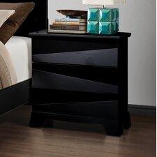 Karolina 3 Drawer Nightstand by Wildon Home ®
