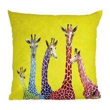 Korey Giraffes Throw Pillow