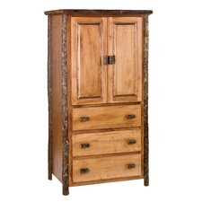 Hickory Armoire by Fireside Lodge