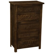 Frontier 5 Drawer Chest by Fireside Lodge