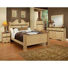 Casa Blanca Queen Panel Customizable Bedroom Set by Sandberg Furniture