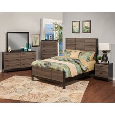 Nova Panel Customizable Bedroom Set by Sandberg Furniture