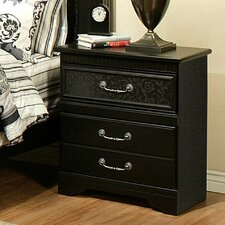 Granada 2 Drawer Nightstand by Sandberg Furniture