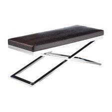 Ikon Arch X-Base Two Seat Bench by Sunpan Modern
