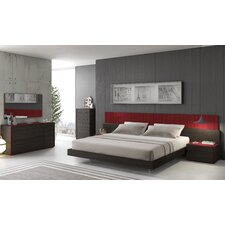 Lagos Platform Customizable Bedroom Set by J&M Furniture
