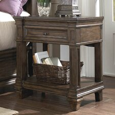 Gallatin 1 Drawer Nightstand by A-America
