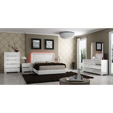 Live Platform Customizable Bedroom Set by At Home USA