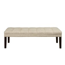 Upholstered Tufted Bedroom Bench by PRI