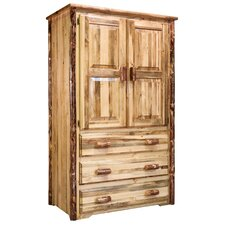 Glacier Country Armoire by Montana Woodworks®