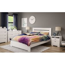 Reevo Queen Platform Customizable Bedroom Set by South Shore
