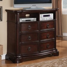 Lavon Lake 6 Drawer Media Chest by Avalon Furniture