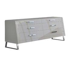 Bahamas 6 Drawer Dresser by Whiteline Imports