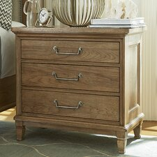 Moderne Muse 3 Drawer Bachelor's Chest by Universal Furniture