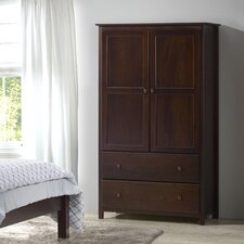 Shaker Armoire by Grain Wood Furniture