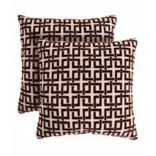 Ric Rac Throw Pillow (Set of 2)