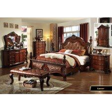 Luxor Panel Customizable Bedroom Set by Meridian Furniture USA Best Price