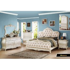 Marquee Panel Customizable Bedroom Set by Meridian Furniture USA