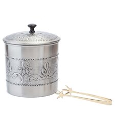 3 Qt. Victoria Ice Bucket with Liner and Tongs