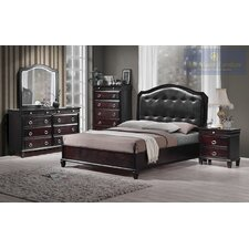 Tiffany Queen Platform Customizable Bedroom Set by BestMasterFurniture