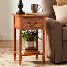 Hanover 1 Drawer Nightstand by Three Posts