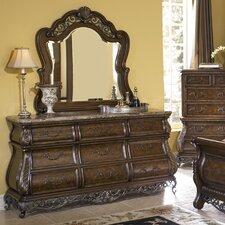 Birkhaven 9 Drawer Dresser with Mirror by Pulaski Furniture