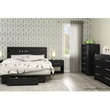 Primo Platform Customizable Bedroom Set by South Shore