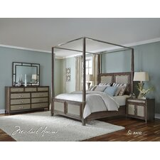 Biscayne West Canopy Customizable Bedroom Set by Michael Amini