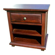 Java 1 Drawer Nightstand by D-Art Collection