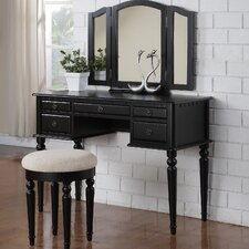 GoodHope Vanity Set with Mirror by Alcott Hill®