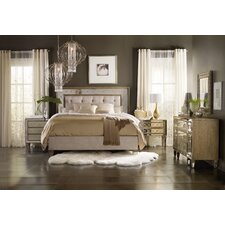 Sanctuary Upholstered Panel Customizable Bedroom Set by Hooker Furniture