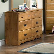Roslindale 6 Drawer Double Dresser by South Shore