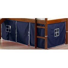 Curtain Set for Twin Loft Bed by Donco Kids