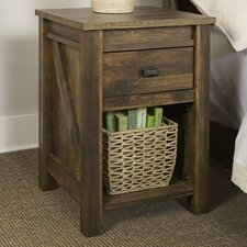 Gilby 1 Drawer Nightstand by August Grove®
